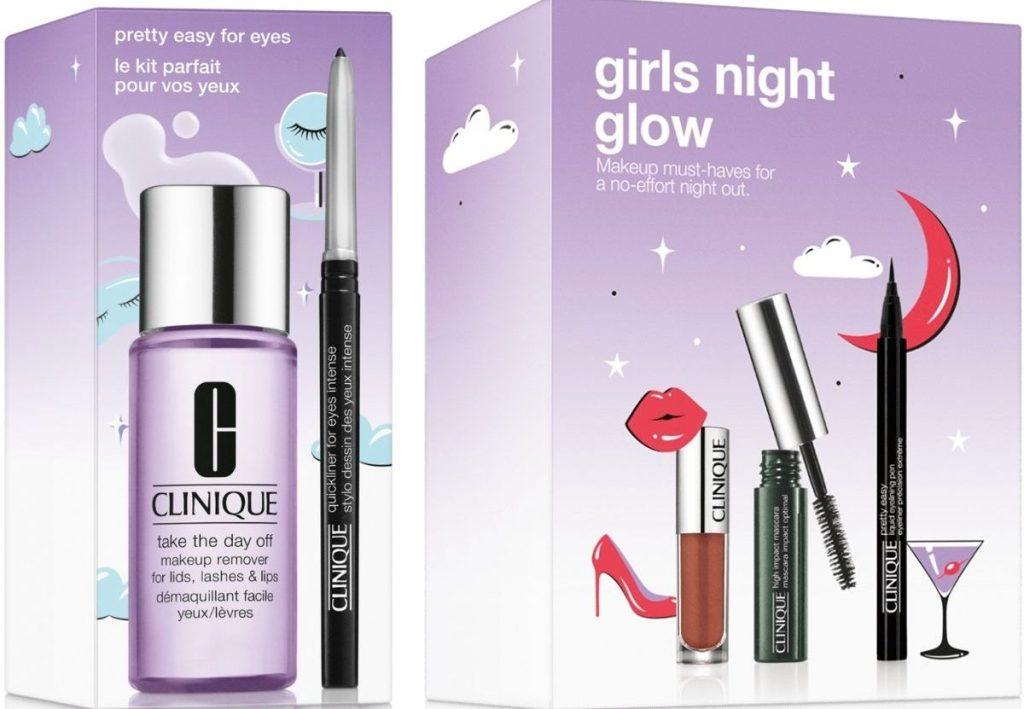 Two Clinique Makeup Gift Sets