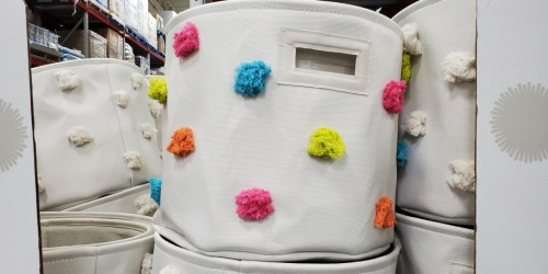 Collapsible Pom Pom Bins 2-Pack Only $17.98 at Sam's Club