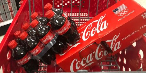 Free $5 Target Gift Card w/ $20 Coca-Cola Purchase | Includes Honest Kids, Powerade, Dasani & More