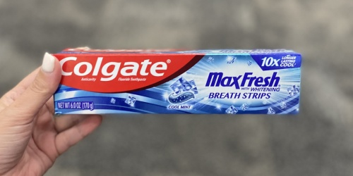 Colgate Toothpastes Just 24¢ Each After CVS Rewards (Starting 2/28)