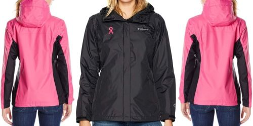 Columbia Women's Tested Tough in Pink Rain Jacket Only $34.90 Shipped (Regularly $90)