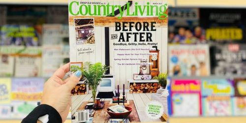 Complimentary 2-Year Country Living Magazine Subscription   No Credit Card Needed