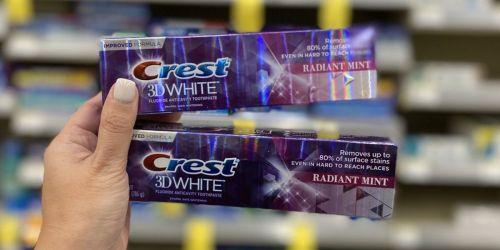 Crest Toothpaste Just 24¢ Each After Walgreens Rewards
