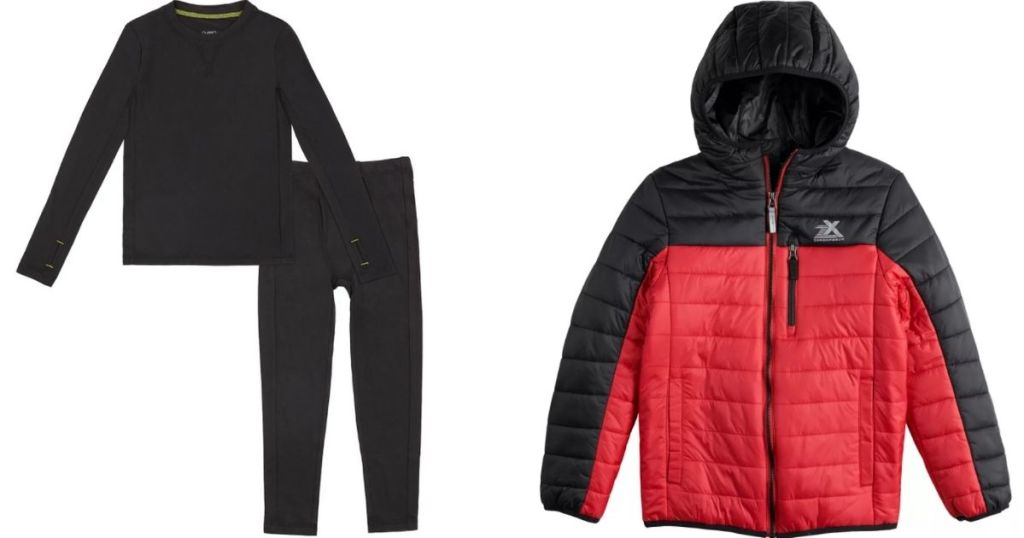 Cuddl Duds Baselayers and Jacket