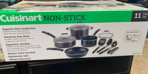 Cuisinart 11-Piece Cookware SetOnly $49.99 Shipped on BestBuy.com (Regularly $200)