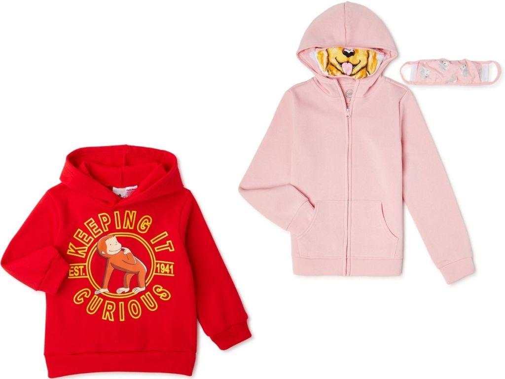 Two kids hoodie sweatshirts