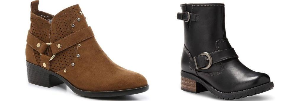 2 pair DSW Women's Boots