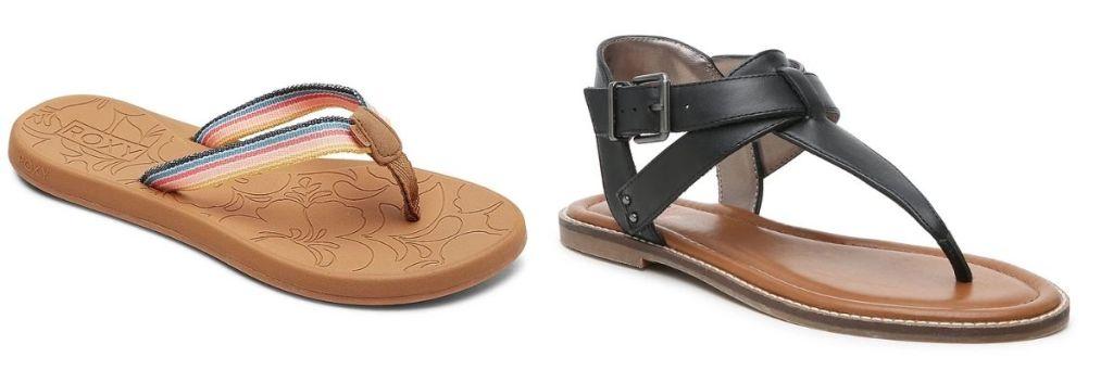 2 pair DSW Women's Clearance Sandals