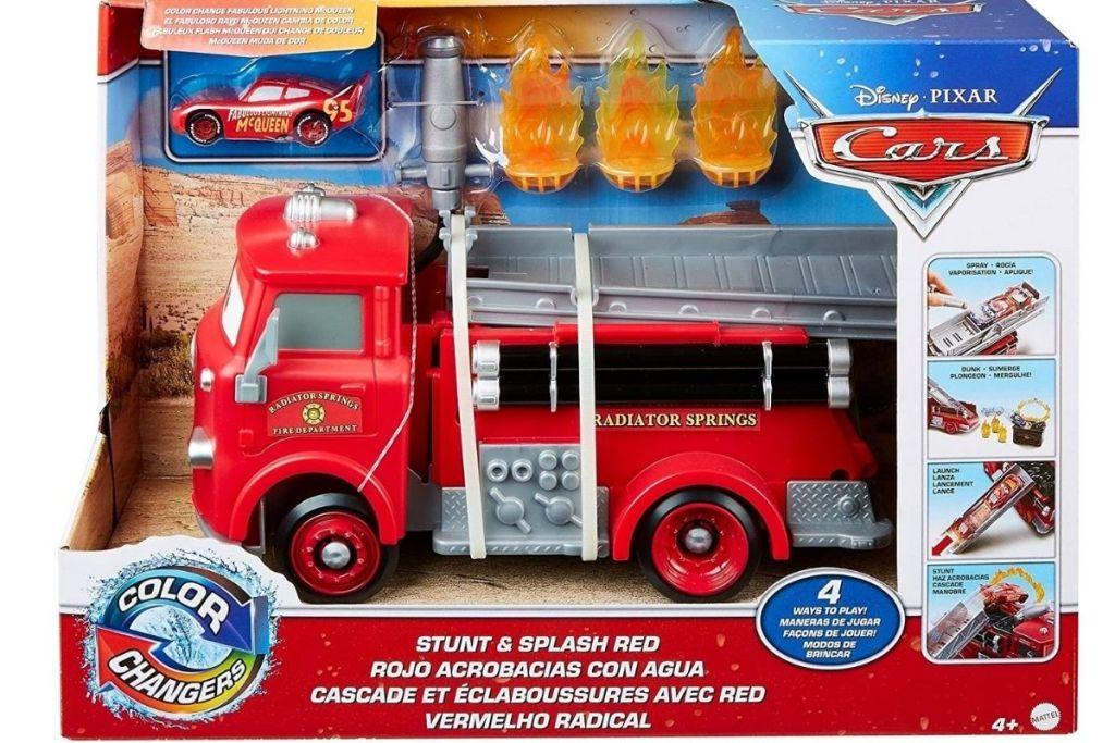 Disney Pixar Cars Stunt & Splash Red in packaging