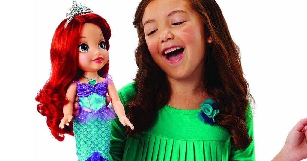 Disney Princess Ariel Sing & Shimmer Doll