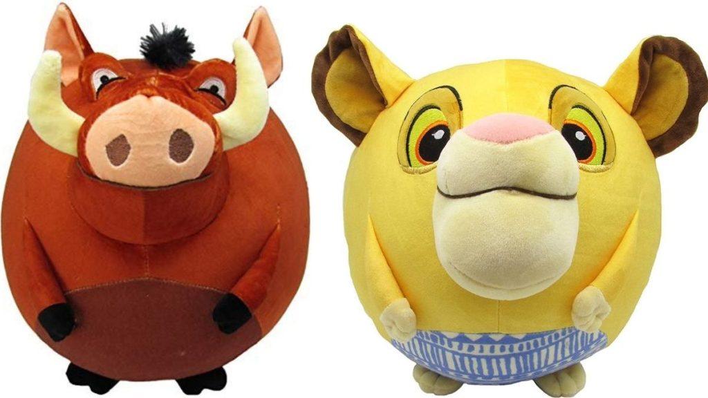 Disney Lion King Pumbaa and Simba Cuddle Pals