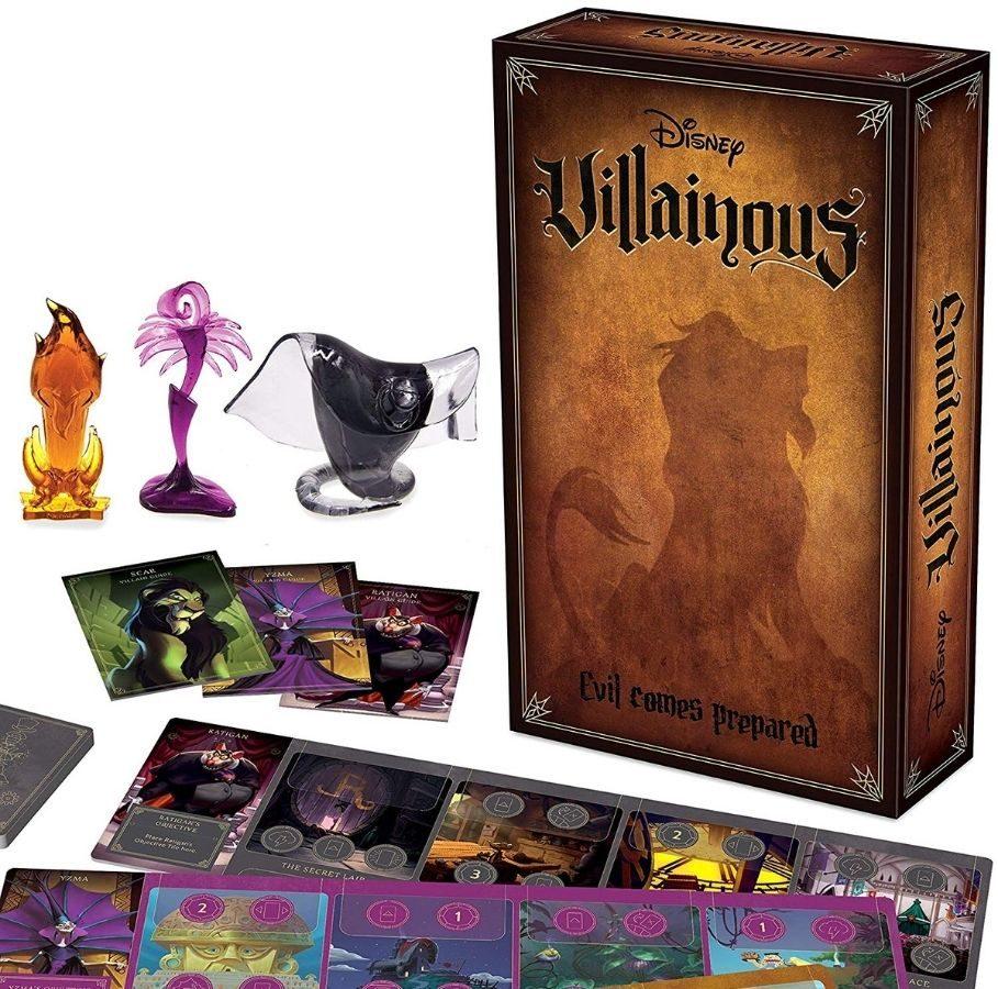 Disney Villainous Evil Comes Prepared game