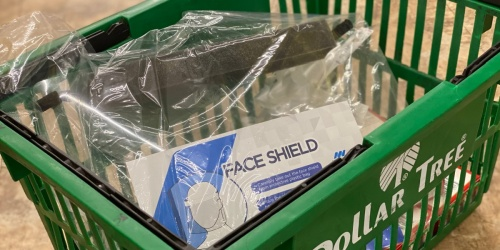 Protective Face Shields Just $1 at Dollar Tree