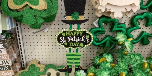 St. Patrick's Day Decor, Accessories, & More Only $1 at Dollar Tree
