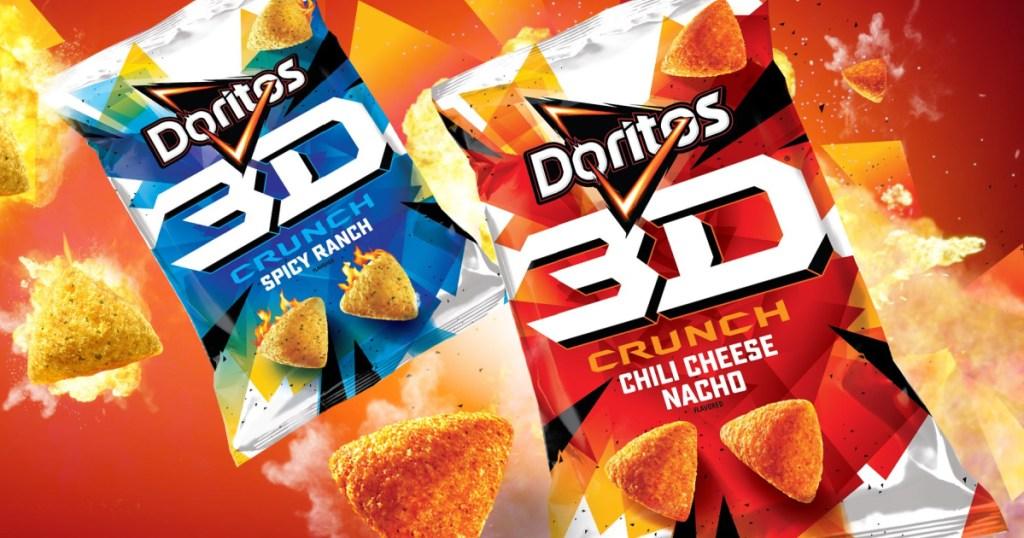 Doritos 3D crunch individual pack chips