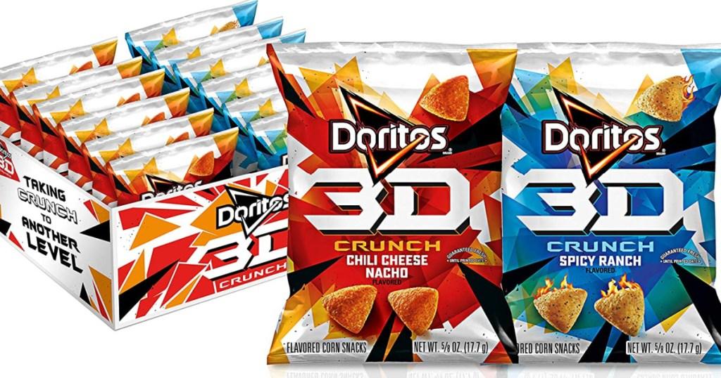 Doritos Chips in 3D