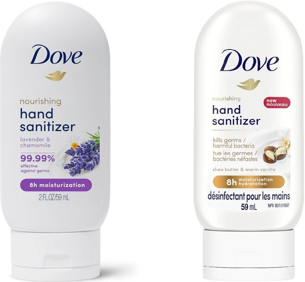 Two dove 2oz Hand Sanitizers