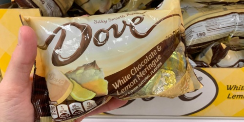 Satisfy Your Sweet Tooth w/ New Dove White Chocolate & Lemon Meringue Candy