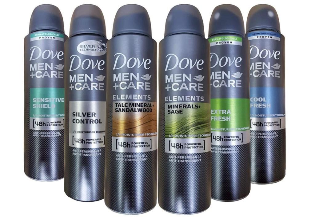 Dove Men+Care Dry Spray Antiperpirant (1)