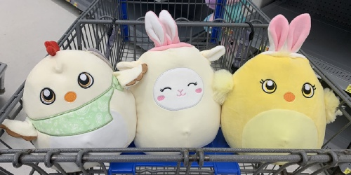 Adorable Easter Squishmallows Spotted at Walmart | Small Just $2.98 & Medium Only $5.98