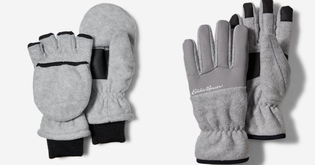 2 pair Eddie Bauer Kids Gloves