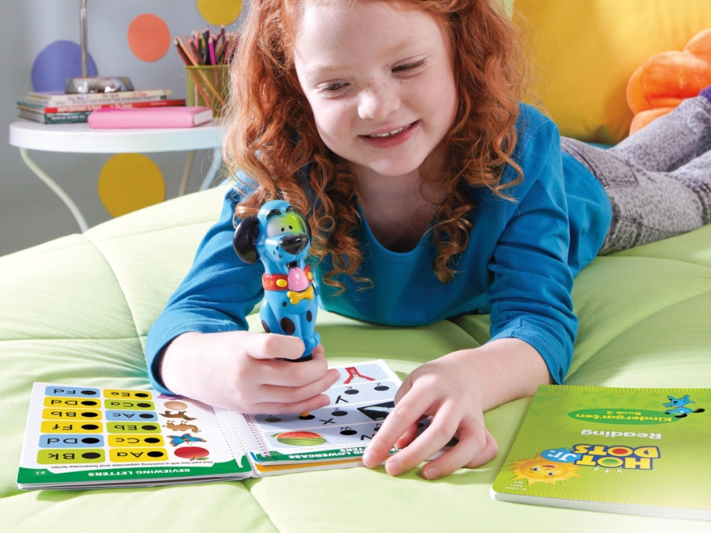 Educational Insights Hot Dots Jr. Let's Master Kindergarten Reading Set