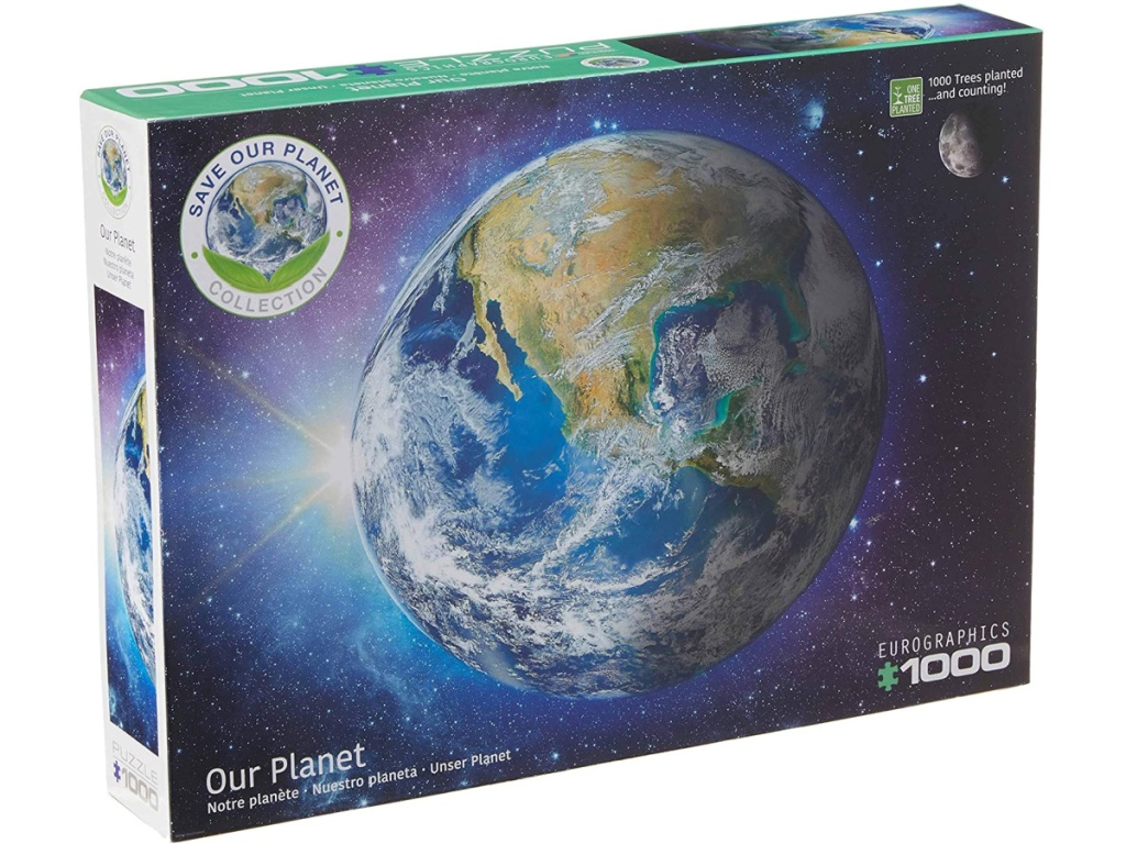 planet Earth puzzle box