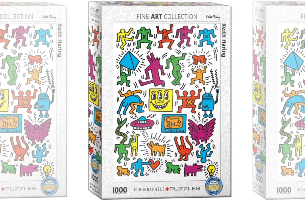 Fine art themed puzzle