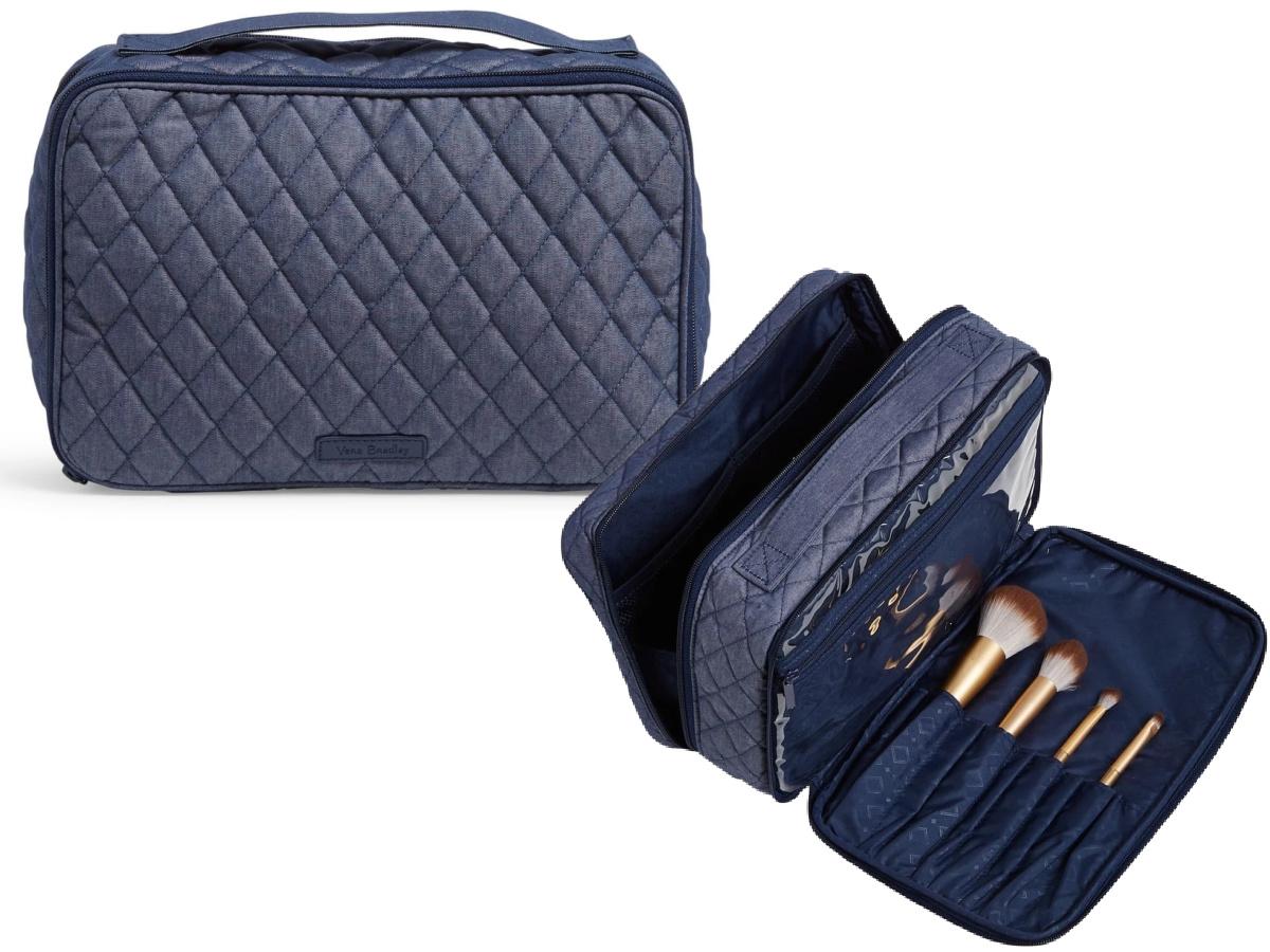 Factory Style Large Blush & Brush Case