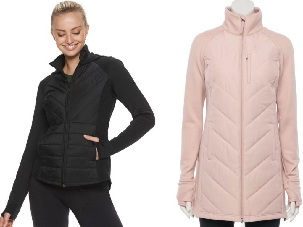 Two women's Fila Sport jackets