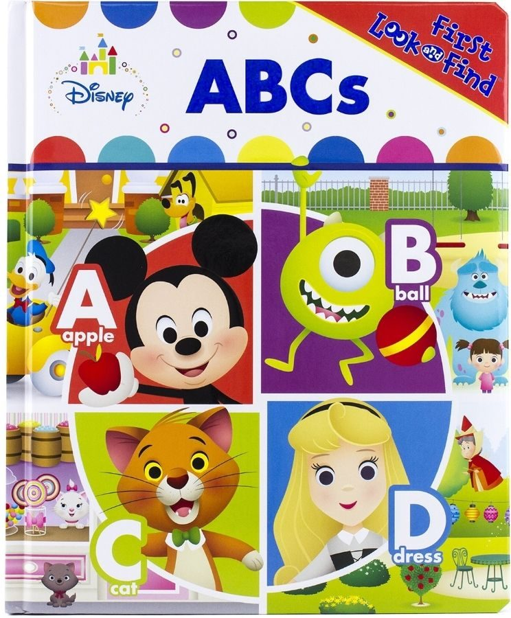 First Look and Find Disney ABCs