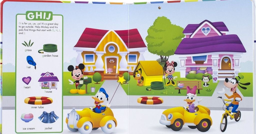 First Look and Find Disney Book