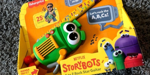 Fisher-Price Storybots Guitar Toy Just $12.50 on Amazon (Regularly $30)