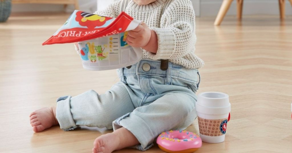 Fisher Price On The Go Breakfast Gift Set
