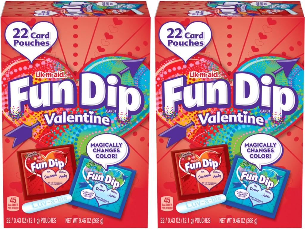 Fun Dip Valentine Variety Dip 22-Piece Box