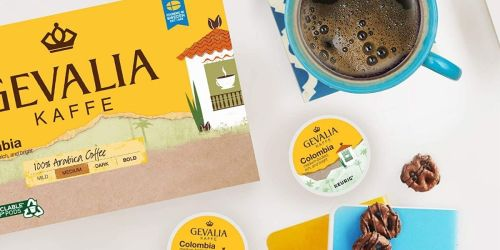 Gevalia Colombia Blend K-Cups 84-Count Box Only $27.91 Shipped on Amazon
