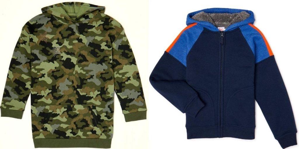 Two kids hoodies