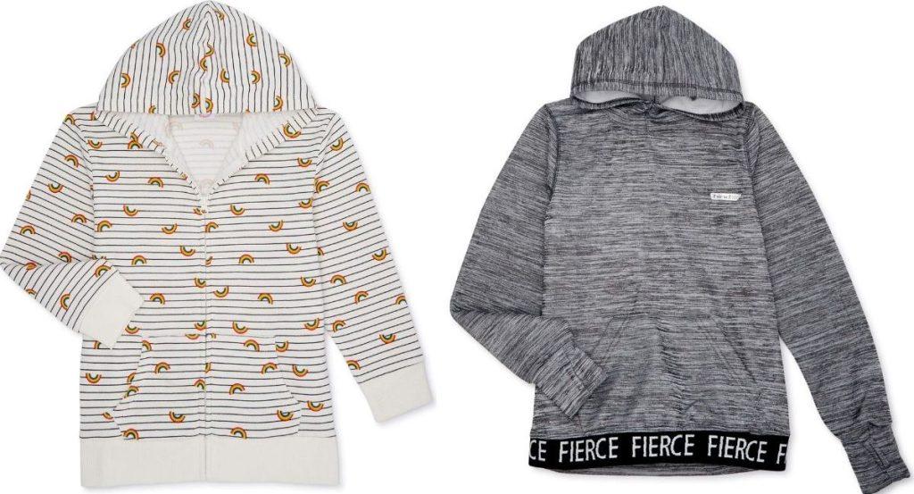 two girls hoodies