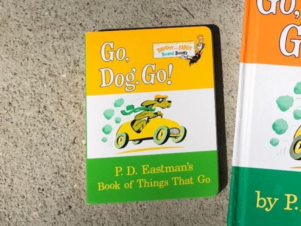 Go Dog Go Board Book