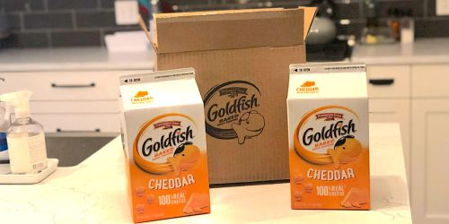 2 BIG Pepperidge Farm Goldfish Cartons Only $8.62 Shipped on Amazon | Great for School Lunches