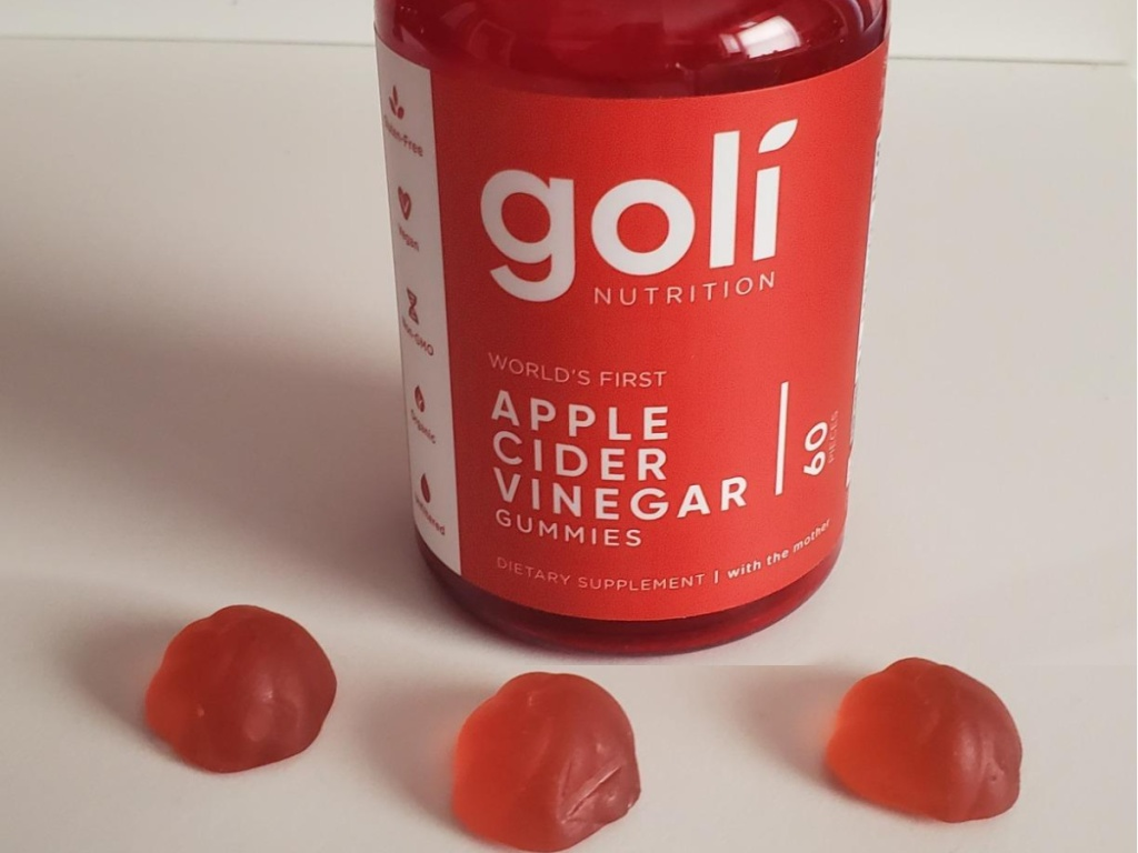 Goli Nutrition Apple Cider Vinegar Gummy Vitamins 60-Count