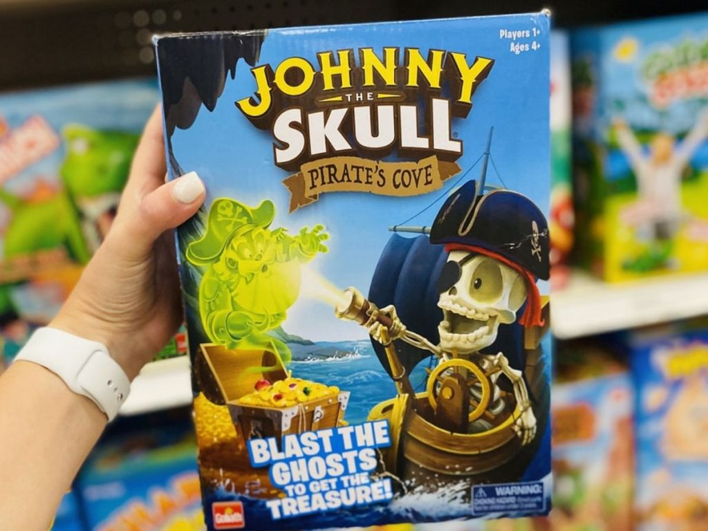 Goliath Johnny The Skull Pirate's Cove Game