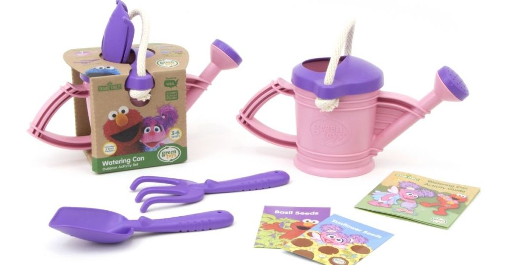 Green Toys Abby Cadabby Watering Can Set
