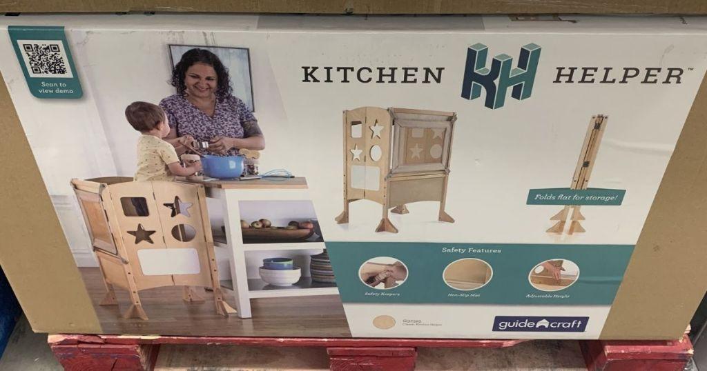 Guidecraft Kitchen Helper box
