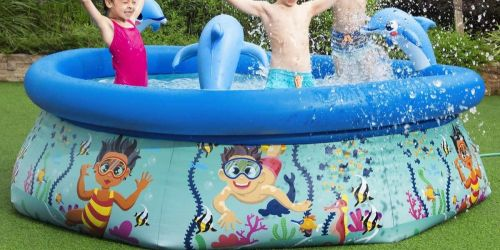 8-Foot Family Spray Pool Only $39.99 Shipped on Costco.com