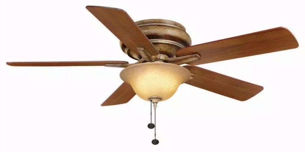 "Hampton Bay Bay Island 52"" Ceiling Fan with Light Kit"