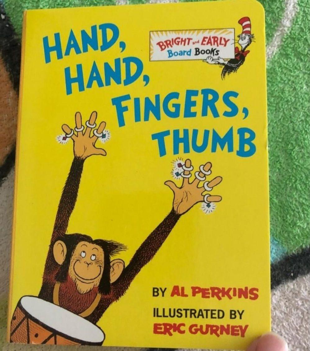Hand Hand Fingers Thumb Board Book