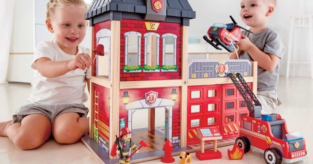 Hape Firestation Playset