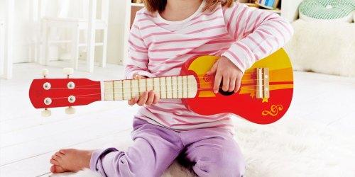 Hape Kids Wooden Ukulele Toy Only $12.60 on Amazon (Regularly $30)