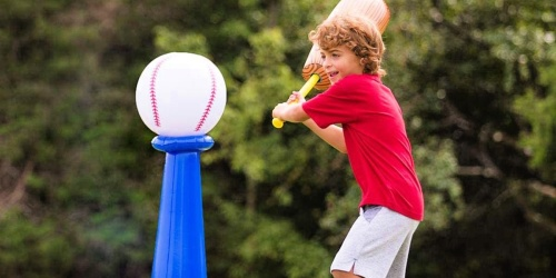 HearthSong Inflatable T-Ball Set Just $12.49 on Zulily.com (Regularly $26)
